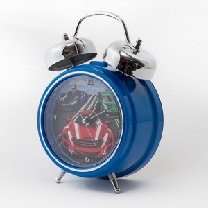 Blue-Car-Clock-3-quarter-view-300x300 Personalised Children's Alarm Clocks