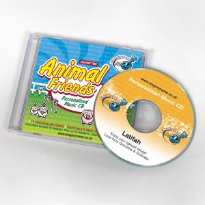 Animal-Friends-personalised-cd-300x300 Personalised CDs for Children