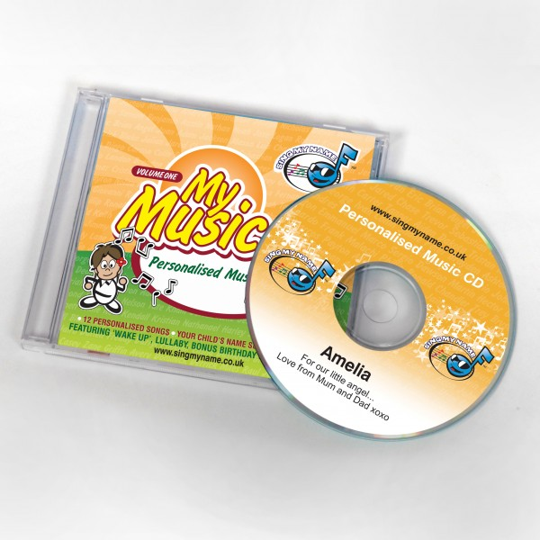 My Music personalised CD