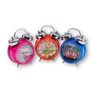 3 clocks
