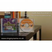 CD My Christmas Sing My Name Personalised