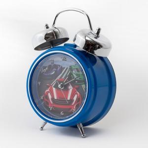 Blue-Car-Clock-3-quarter-view-300x300 Personalised Children's Alarm Clocks