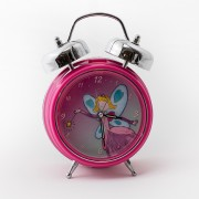 Pink Fairy CLock Front View