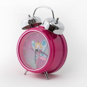 Pink-Fairy-Clock-3-quarter-view-300x300 Personalised Children's Alarm Clocks