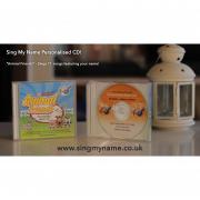 CD Album Animal Friends Sing My Name Personalised