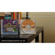 CD My Christmas Sing My Name Personalised