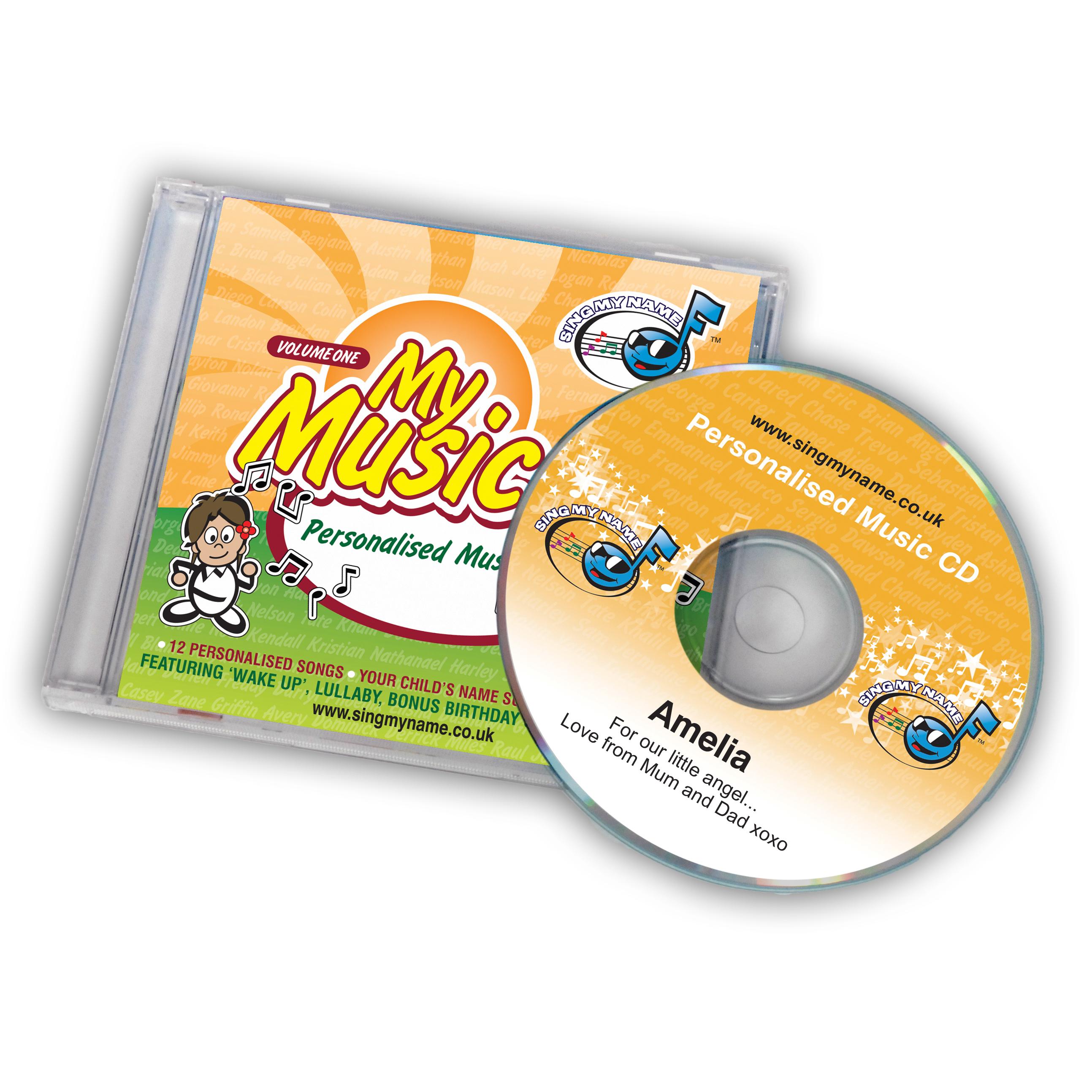 Personalised CD Album