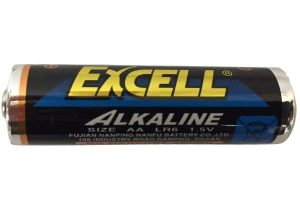 Excell-battery-300x200 Alkaline AA Batteries x 3 for Alarm Clock