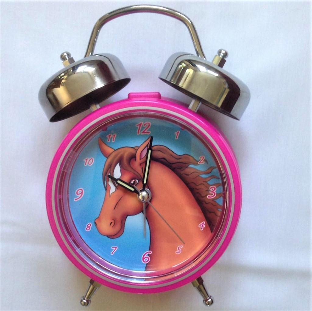 Horse-clock-1 Girls Alarm Clocks